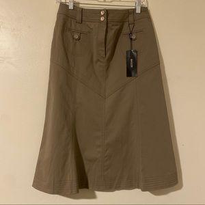 Basler Black Label Professional Tan Skirt, M.